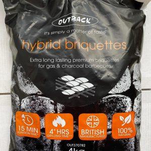 HYBRID CHARCOAL BRIQUETTES 4KG