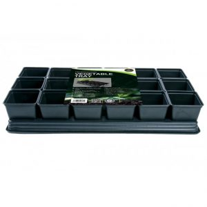 PROFESSIONAL VEGETABLE TRAY (18x9cm SQ POTS)