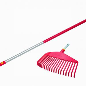 WOLF MULTI CHANGE 2 PIECE SET – LAWN RAKE HEAD AND HANDLE