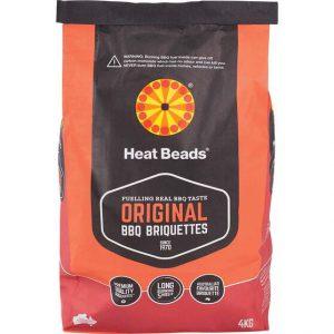 HEAT BEADS BBQ BRIQUETTES (4kg)