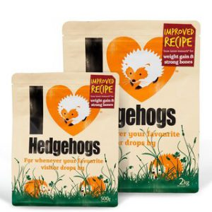 I LOVE HEDGEHOGS 2kg