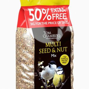 MULTI SEED & NUT MIX – 50% FOC – 3kg