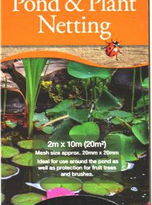 HEAVY DUTY POND & PLANT NETTING 2mx10m – BOXED