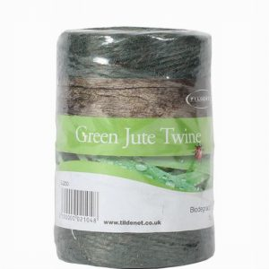 200g SPOOL BIODEGRADABLE GREEN JUTE TWINE (APPROX 110m/SPOOL)