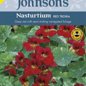 NASTURTIUM RED TROIKA