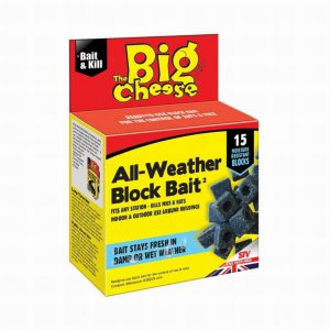THE BIG CHEESE ALL WEATHER BLOCK BAIT PK15