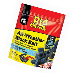 THE BIG CHEESE ALL WEATHER BLOCK BAIT PK30