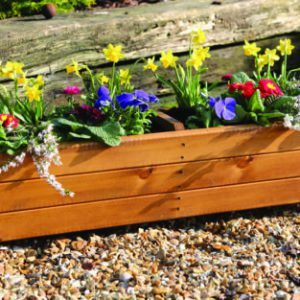 HARLOW TROUGH PLANTER – WOODEN (FSC)