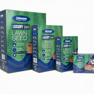 LUXURY LAWN 1.5kg JOHNSONS LAWN SEED