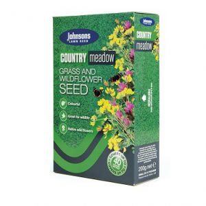 OLD ENGLISH COUNTRY MEADOW 200g JOHNSONS LAWN SEED