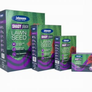 "SHADY PLACE 250g ""PATCH-PACK"" JOHNSONS LAWN SEED"