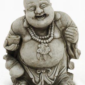 HAPPY BUDDHA GARDEN ORNAMENT