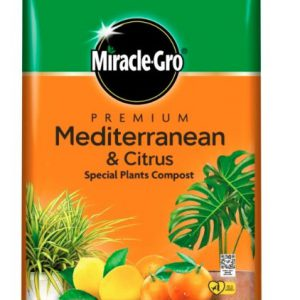 MIRACLE-GRO MEDITERRANEAN AND CITRUS COMPOST 6 LITRES