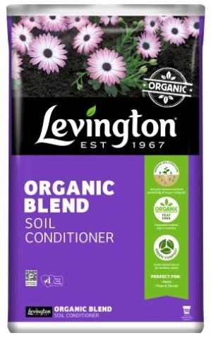 LEVINGTON ORGANIC BLEND SOIL CONDITIONER 50L