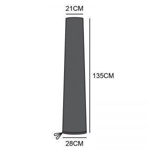 NOVA 2M-2.5M PARASOL COVER