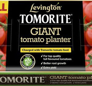 LEVINGTON TOMORITE PLANTER/GROWBAG 52L