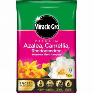 MIRACLE-GRO ERICACEOUS COMPOST40L AZAELIA/CAMELLIA/RHODODEN.