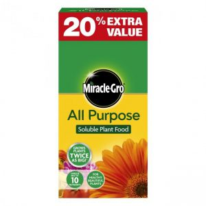 MIRACLE-GRO ALL PURPOSE PLANT FOOD 1kg+20% FREE