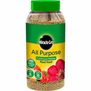 MIRACLE-GRO CONTINUOUS RELEASE PLANT FOOD JAR 1kg