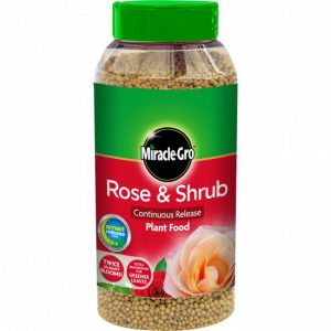 MIRACLE-GRO ROSE & SHRUB FOOD SLOW RELEASE 1kg