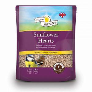 HARRISONS SUNFLOWER HEARTS 4kg POUCH