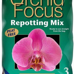 ORCHID FOCUS REPOTTING MIX – 3 LITRE BAG