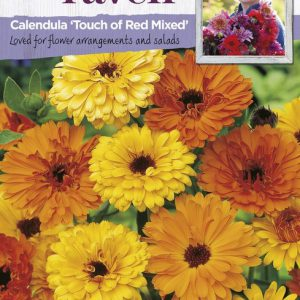 SRCF-CALENDULA TOUCH OF RED MIXED