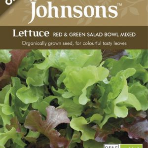 ORG LETTUCE RED & GREEN SALAD BOWL MIXED