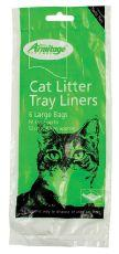 ARMITAGE CAT LITTER LINERS LARGE GREEN