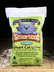 SMART CAT WOOD BASED LITTER 30L