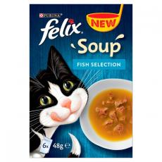FELIX SOUP FISH SELECTION 6x 48g