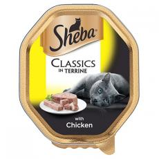 SHEBA TRAY CLASSICS WITH CHICKEN IN TERRINE 85g