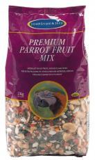 J&J PREMIUM PARROT FRUIT MIX 2kg