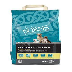 BURNS ADULT & SENIOR WEIGHT CONTROL CHICKEN & OATS 2kg