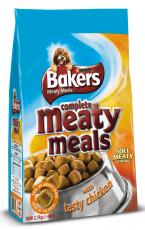 BAKERS COMPLETE ADULT MEATY MEALS CHICKEN 2.7kg