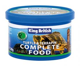 KING BRITISH TURTLE & TERRAPIN FOOD 80g