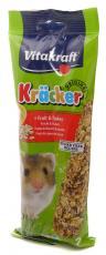 VITAKRAFT KRÄCKER® HAMSTER FRUIT-FLAKES 2 PACK