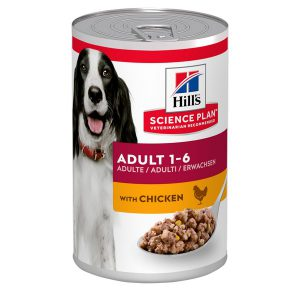 HILL'S SP CANINE ADULT CHICKEN CAN 370g