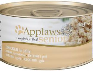 APPLAWS CAT TIN SENIOR CHICKEN 70g
