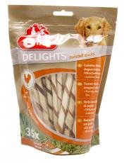 8IN1 DOG DELIGHTS TWIST STICKS CHICKEN 190g