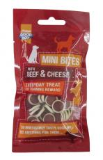 GOOD BOY BEEF & CHEESE BITES 70g