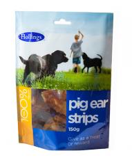 HOLLINGS PIG EAR STRIP 150g