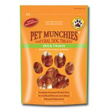 PET MUNCHIES DUCK TWISTS 80g