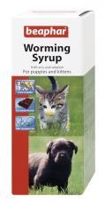 BEAPHAR DOG & CAT WORMING SYRUP 45ml