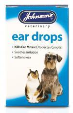 JVP DOG & CAT EAR DROPS 15ml