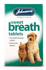JVP DOG & CAT SWEET BREATH 30 TABLETS