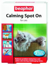 BEAPHAR CAT CALMING SPOT ON 3 PIPETTES