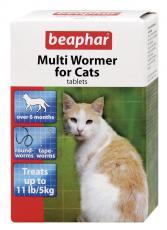 BEAPHAR CAT MULTIWORMER 12 TABLETS