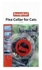 BEAPHAR CAT PLASTIC FLEA COLLAR MIXED COLOURS 35cm