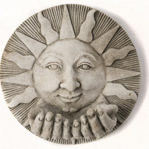 SUN HAND PLAQUE